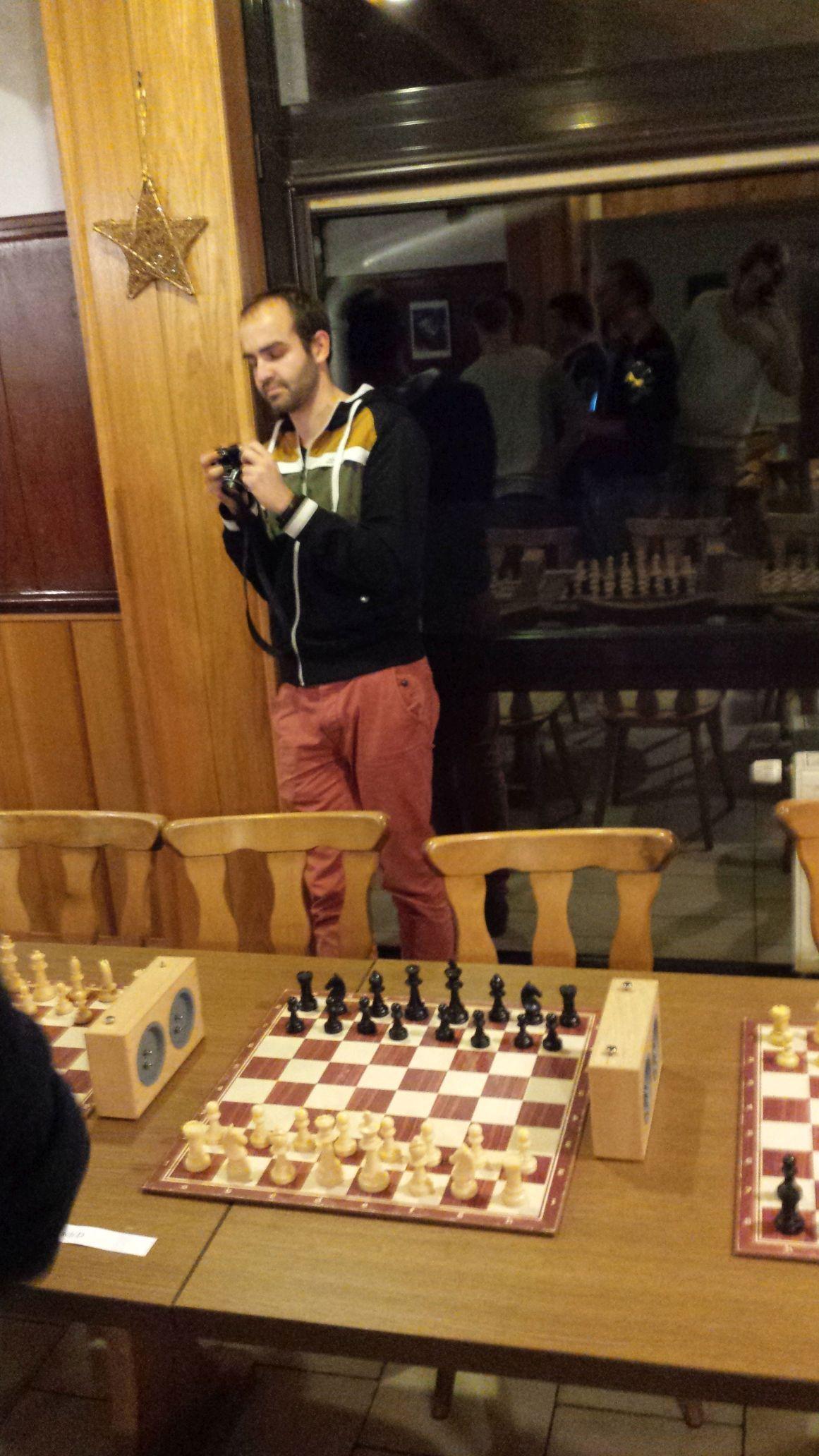 Tino Theer, designierter Vorsitzender der Thüringer Schachjugend