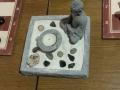 Budda-Gärtchen am Schachbrett