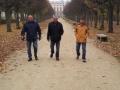 Lustwandeln im Park von Schloss Charlottenburg