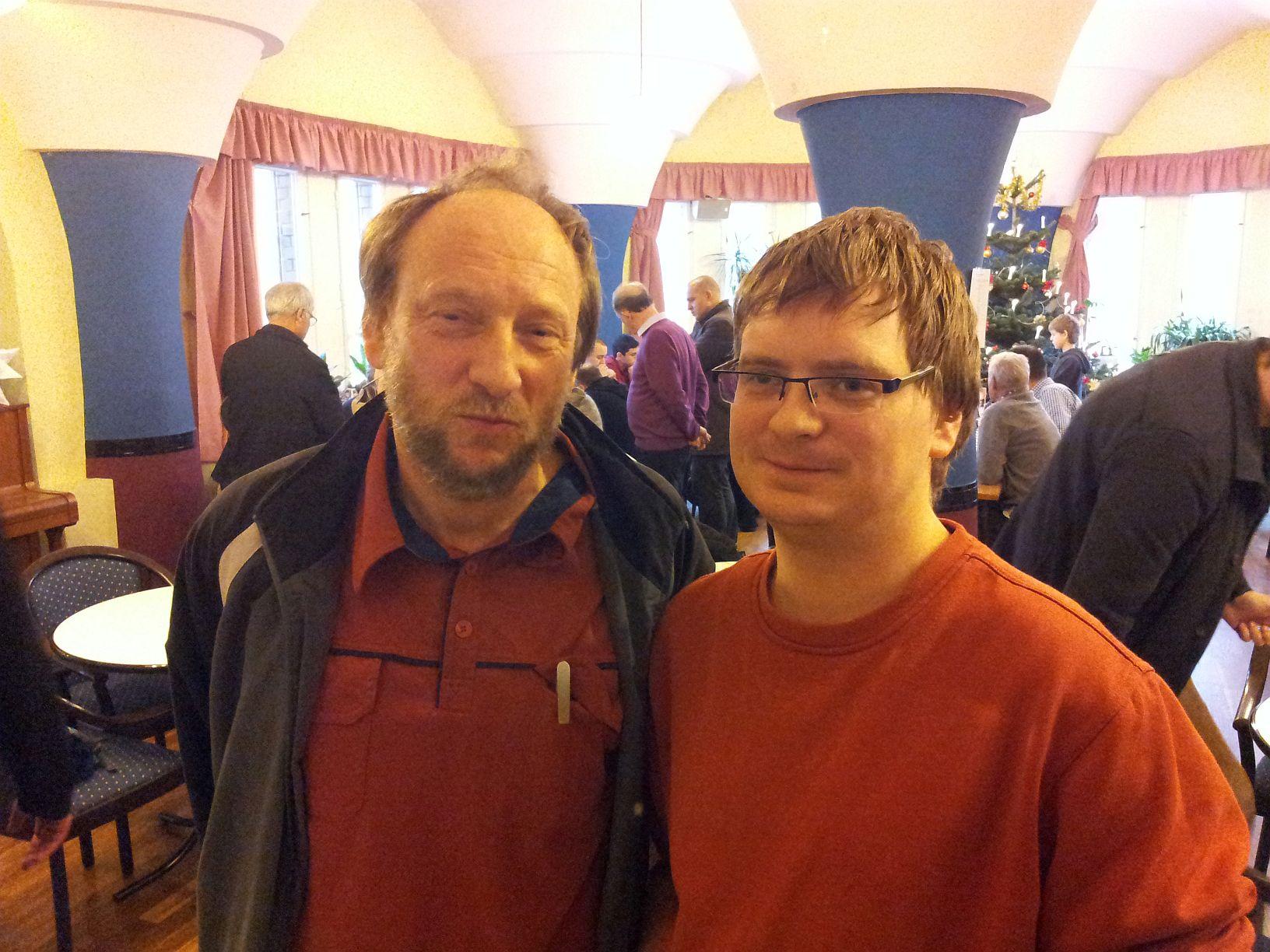 Sohn und Vater Georgi